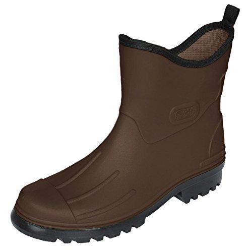 BOCKSTIEGEL® PETER Hombres - Cargadores del tobillo de goma (Tamaños: 41-48) marrón