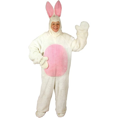 [Halco - Bunny Suit Adult Costume - X-Large] (Plus Size Easter Bunny Costumes)