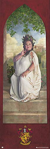 (HARRY POTTER - Door Movie Poster (The Fat Lady - House Gryffindor - Version 2) (Size: 21