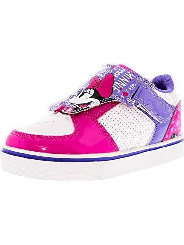 Heelys Girl's Twister X2 White/Pink Purple Ankle-High Skateboarding Shoe - 2M -