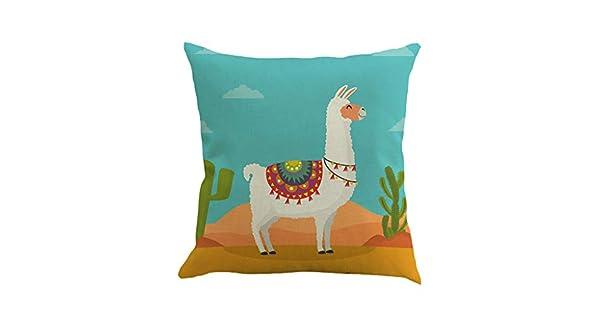 Amazon.com: Baulody – Fundas de almohada decorativas, lama y ...
