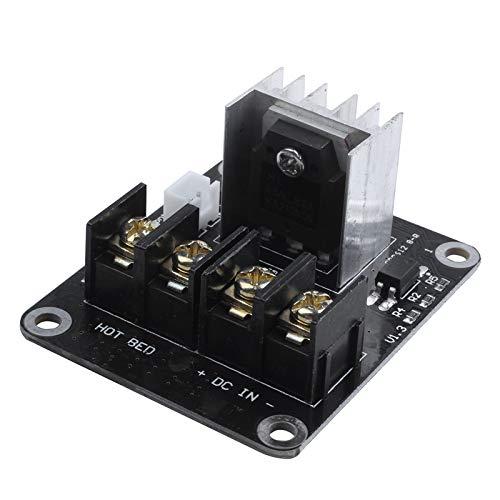 CUHAWUDBA Module dextension MOSFET pour imprimante 3D avec c/âble 2 Broches Anet A8 A6 A2 Noir