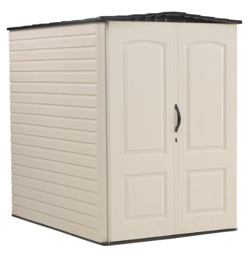 Rubbermaid Plastic Large Outdoor Storage Shed,159-Cubic Feet, FG5L3000SDONX
