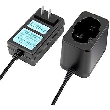 Amazon.com: shentec 1,2 V-18 V Cargador de batería para ...