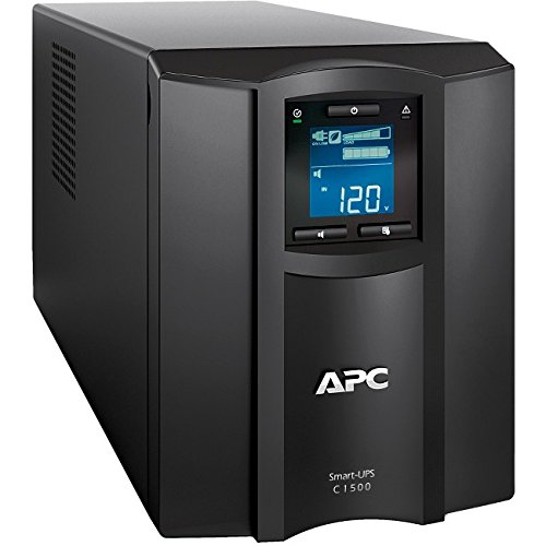 APC Smart-UPS with SmartConnect Remote Monitoring App, 1500VA UPS Sine Wave Battery Backup & Surge Protection (SMC1500C)
