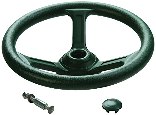 Playset Steering Wheel Accessory- Green, One Size (Swing Steering Wheel Set)