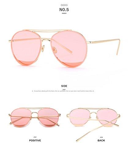 C Gafas Moda Calle Sol Viaje Moda Mujer Espejo De Retrovisor Exteriores para Playa Visera Gafas Sol De D De Hombres Gafas Personalidad Ritmo ww51gqCxn