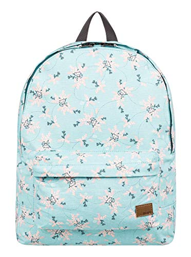 Roxy Junior's Sugar Baby Canvas Backpack, Aquifer Flowers for sale  Delivered anywhere in USA