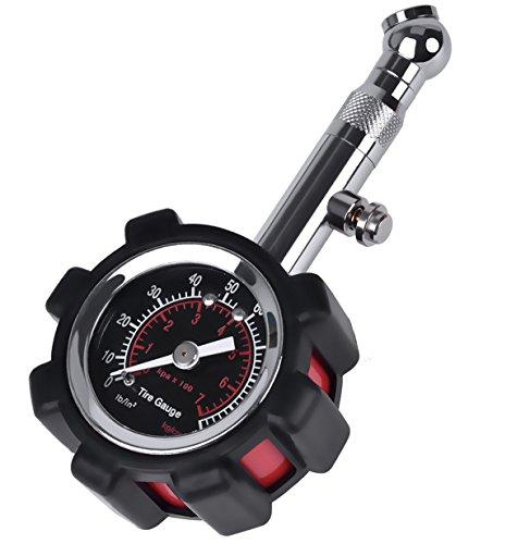 Tire Pressure Gauge for Car, Motorcycle, Bike, Truck, RV, SUV, ATV & More - 100 PSI