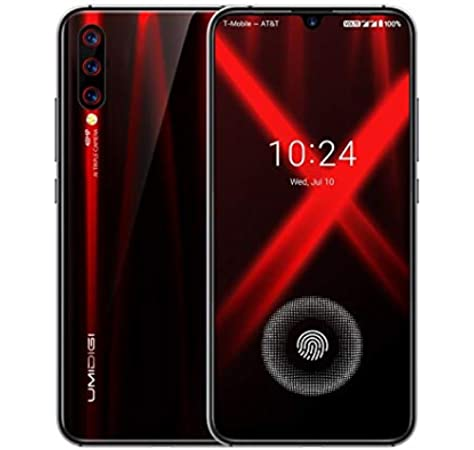 Umidigi X 48mp Camera 4gb 128gb Triple Back Cameras 4150mah Battery In Screen Fingerprint Identification 6 35 Inch Full Screen Android 9 0 Mtk Helio P60 4g