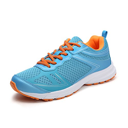 Hawkwell Womens Athletic Comfort Running Shoes 1824-blu