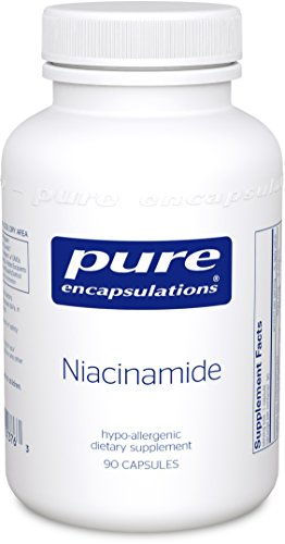 Pure Encapsulations Niacinamide Hypoallergenic Metabolism