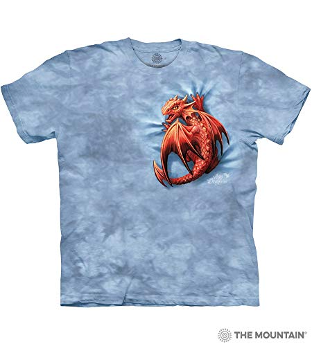 The Mountain Wyrmling Adult T-Shirt, Blue, XL