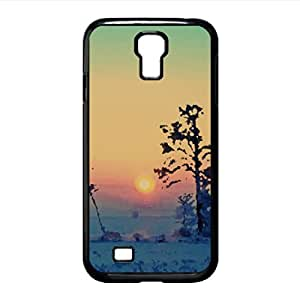 Wonderful Winter Morning Watercolor style Cover Samsung Galaxy S4 I9500 Case (Winter Watercolor style Cover Samsung Galaxy S4 I9500 Case)