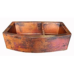 419geT2fGkL._SS300_ Copper Farmhouse Sinks & Copper Apron Sinks
