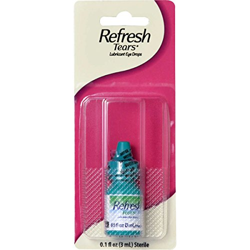 Refresh Tears Lubricant Eye Drops Travel Size Dry Eye Drops, Pack with 6 Bottles of 0.1 fl oz (Total 0.6 fl oz or 18mL) by Refresh Tears (Image #1)