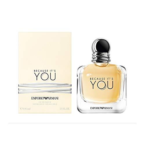 Emporio Armani Because It's You Eau De Parfum 3.4 Ounce / 100 ml from Giorgio Armani
