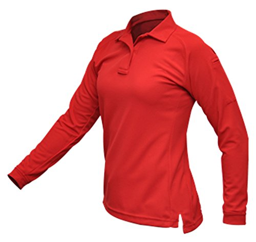 Vertx Vertx Women's Cold Long Sleeve Polo Shirt, Red, Small from Amazon | Accuweather