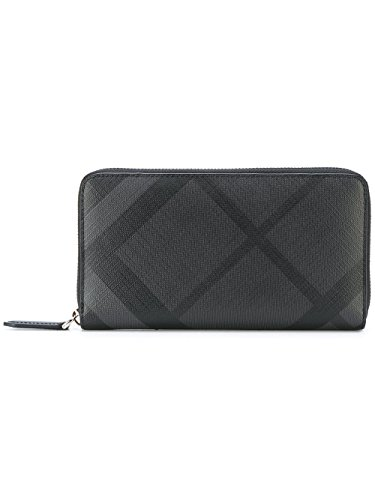 Burberry London Leather Ziparound Men's Wallet