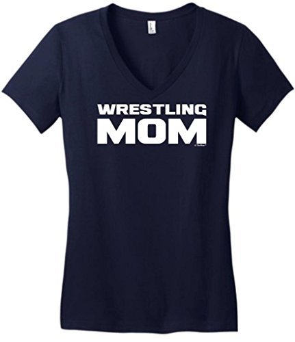 Wrestling Sports Mother Juniors V Neck