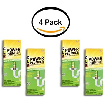 Amazon Com Clr Pp4 5 Power Plumber Drain Opener 4 5 Oz