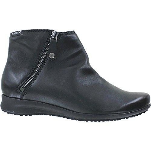 Mephisto Women's Filipina Bootie,Black Leather,US 5 M