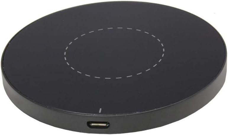 ML Doogee S68 Pro Estación de Carga del Cargador a inducción del Cargador inalámbrico de Qi 1A, Negro,