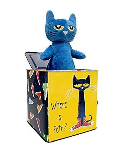 Pete The Cat Jack-in-The-Box - Musical Toy for Babies from KIDS PREFERRED