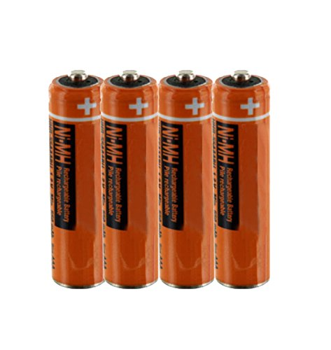 1.2v Rechargeable Nimh Battery - 4PCS NI-MH AAA Rechargeable Battery For Panasonic HHR-55AAABU 1.2V Replacement Battery