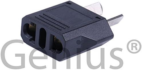 Genius® 3 x adaptador enchufe enchufe universal compacto de viaje ...
