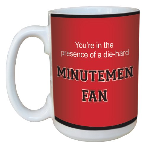 - Tree-Free Greetings lm44779 Minutemen College Basketball Ceramic Mug with Full-Sized Handle, 15-Ounce
