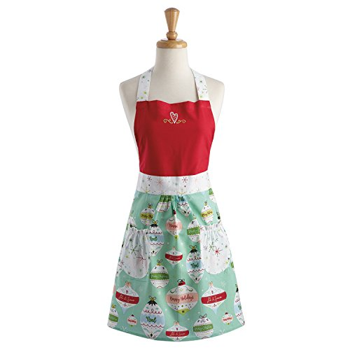 DII Christmas Apron Dress for Women - Ornaments