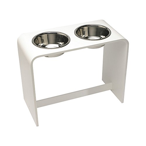 Trendy Pet Bowls, White, 18