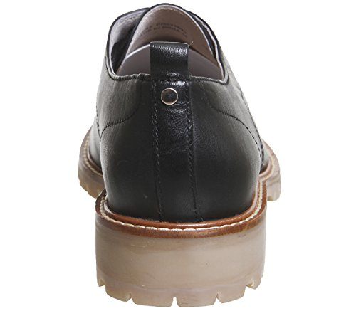 Office Sole Black Leather Kennedy Gum Lace Shoes Up rqr0awT