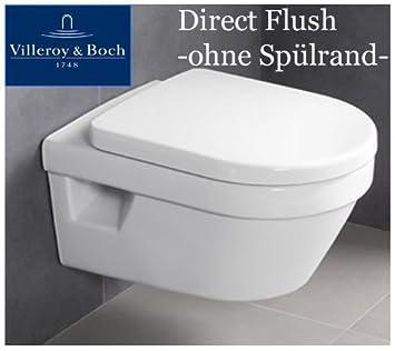 Trendig V & B Omnia Architectura Rimless, Flush Rimless WC White  SJ81