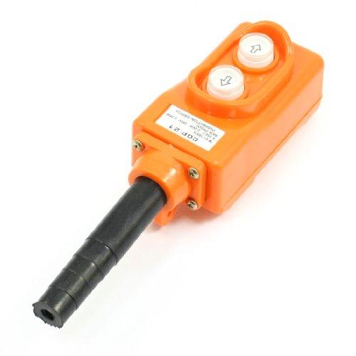 Uxcell a13111600ux0134 Up-Down Rain Proof Hoist Crane Pendant Pushbutton Switch
