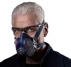 GVS SPR457 Elipse P100 Half Mask Respirator kxtmdI, 2Pack (Medium and Large)