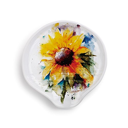 Demdaco 3005051167 Big Sky Carvers Sunflower Spoon Rest, Multicolored by Demdaco (Image #1)