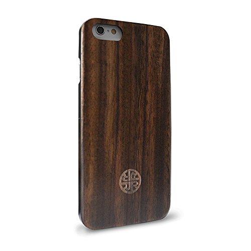 - Case Compatible with iPhone 7 Plus / 8 Plus - Zen Garden Case by Reveal Shop - Eco-Friendly Design (Wood)