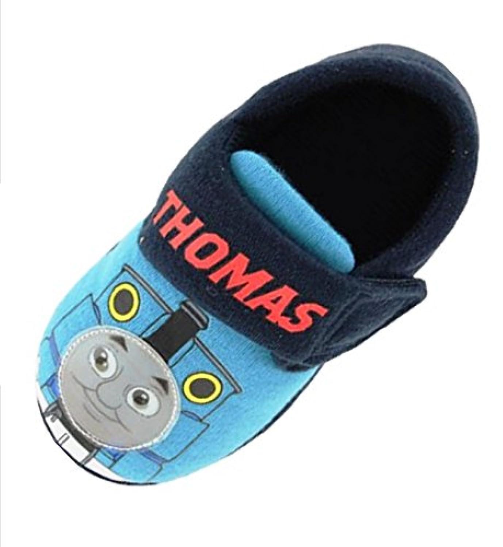 Boys Thomas the Tank Engine Warm Slippers - NEW STYLE - (UK child 5)