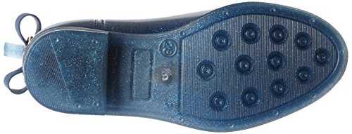 Lemon Jelly Mädchen Fantasy Chelsea Boots Blau (Transparent Sapphire Blue / Glitter)