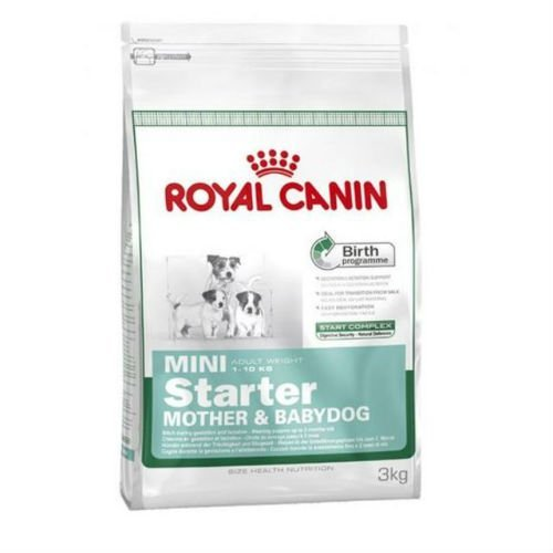 Royal Canin Mini Starter Mother & Babydog Dogs Food 3kg (Canin Toy Mini Royal)