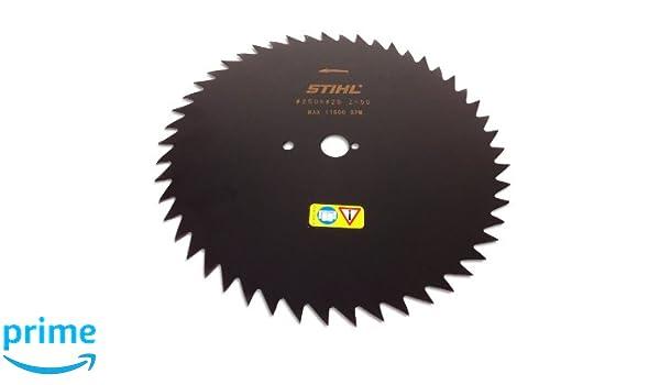 Stihl de dientes de sierra circular hoja 250 mm 20 mm 50 dientes ...