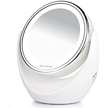 Amazon Com Double Sided Natural Led Lighted Makeup