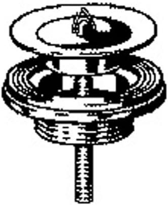 /1//¼ /Bonde Bouchon/ /Lavabo/ stopfventil /Lavabo/ Bonde pour lavabo Valve Bouchon/