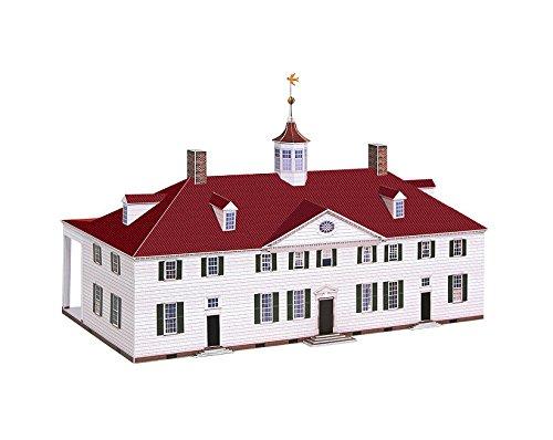 PaperLandmarks Mount Vernon Paper Model Kit