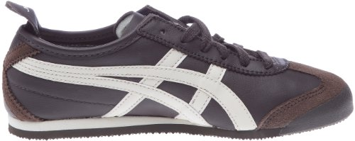 Mixte Baskets Mexico Adulte Tiger Mode 66 blanc Marron Onitsuka wARXtqx