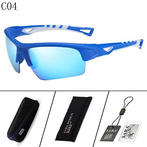 nbsp;Goggles sunglasses Black Gafas de nbsp; blue 2 nbsp;Outdoor Mirror Sol Riding Gafas Deportivas Hombre Sports polarizadas nbsp; Mjia 6dwZ6