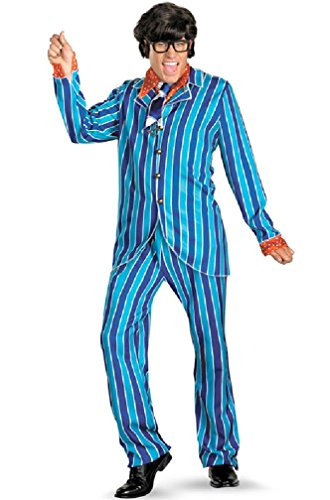 8eighteen Austin Powers Carnaby Suit Deluxe Adult Costume (Austin Powers Girl Costume)