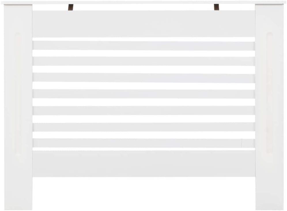 172 x 19 x 81,5 cm, Typ 2 UnfadeMemory Heizk/örperabdeckung Heizk/örperverkleidung Wei/ß Heizk/örper Dekorativ Heizungsverkleidung Abdeckung MDF mit mattem Finish f/ür Heizk/örper